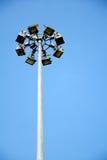 Poste de la lámpara. Foto de archivo libre de regalías