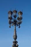 Poste de la lámpara Fotos de archivo libres de regalías