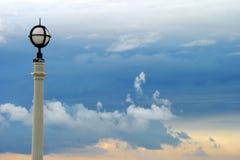 Poste de la lámpara Foto de archivo