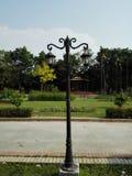 Poste de la lámpara Fotografía de archivo