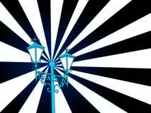 Poste de la lámpara   ilustración del vector