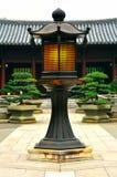 Poste de la lámpara de la vendimia Fotos de archivo