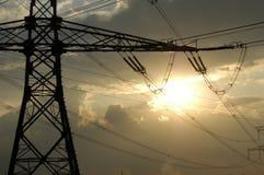 poste de la Potencia-transmisión Fotografía de archivo libre de regalías