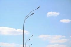 Poste de luz da rua Imagem de Stock Royalty Free