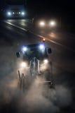 Poste de nuit photographie stock