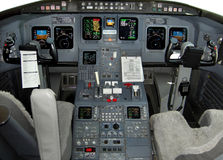 Poste de pilotage Image stock