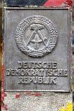 Poste del huésped de RDA anterior Imagen de archivo libre de regalías