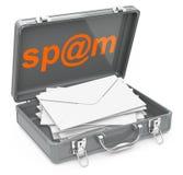 Poste dello Spam Immagine Stock Libera da Diritti