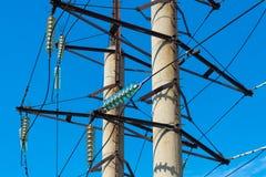 Poste eléctrico Foto de archivo