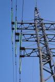 Poste eléctrico del metal Foto de archivo