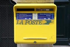 Poste francés Fotografía de archivo libre de regalías