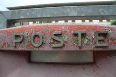 Poste: italian mailbox Royalty Free Stock Photo