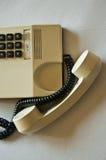 Poste téléphonique de bureau, -crochet photographie stock libre de droits