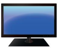 Poste TV d'écran plat Photographie stock