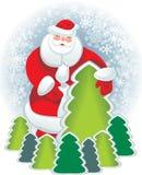 postel santa карточки бесплатная иллюстрация