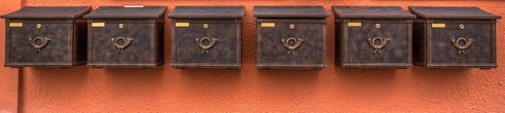 Posten-Kasten Lizenzfreies Stockfoto