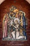 Posten van het Kruis stock afbeeldingen