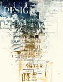 Poster Art Stock Image
