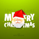 Poster, Banner for Christmas and Happy New Year. Stock Image