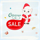 Poster or banner for Christmas sale. Stock Photo