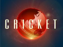 Poster or banner design for Cricket. Stock Photography