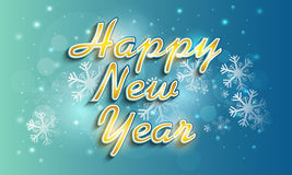 Poster or banner design for Happy New Year 2015 celebration. Royalty Free Stock Photo