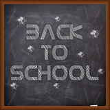 Poster, Banner or Flyer design for Back to School. Royalty Free Stock Photos