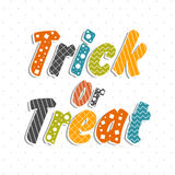 Poster, banner or flyer for Halloween Party. Stock Image