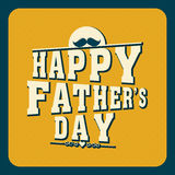 Poster, banner or flyer for Happy Fathers Day. Stock Image