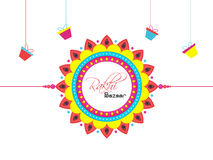 Poster, Banner or Flyer for Raksha Bandhan. Royalty Free Stock Images