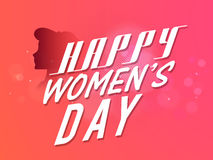 Poster, Banner or Flyer for Women's Day celebration. Stock Photo