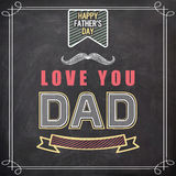 Poster or banner for Happy Fathers Day celebration. Stock Photo