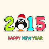 Poster or banner for Happy New Year 2015. Stock Images