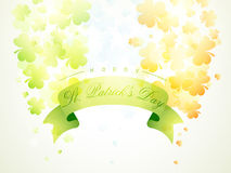 Poster or banner for Happy St. Patrick's Day celebration. Stock Images