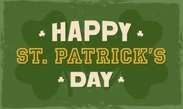 Poster or banner for St. Patricks Day celebration. Stock Photos