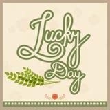 Poster or banner for St. Patricks Day celebration. Royalty Free Stock Photo