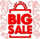 Poster Big sale. Last chance. Vector illustration. Poster. Big sale. Last chance vector illustration