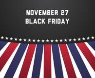 Poster for Black Friday (November 27) Royalty Free Stock Photos