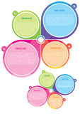 Poster And Brochure Color Vector Concept Royalty Free Stock Photography