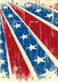 Poster confederado Fotografia de Stock