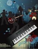 Poster da música Imagens de Stock