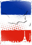 Poster de France Foto de Stock Royalty Free
