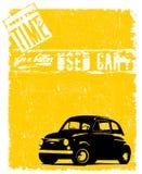 Poster de Grunge Imagens de Stock