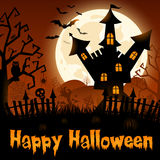 Poster de Halloween Fotos de Stock