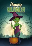 Poster de Halloween Fotografia de Stock Royalty Free