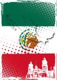 Poster de México Imagens de Stock