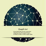 Poster design with abstract pattern and space for text. Stock Photography