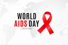 Free Poster Design For The World AIDS Day And National HIV Alertness Campaign Royalty Free Stock Image - 131732186