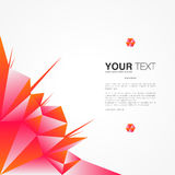 Poster design with your text. Minimal abstract background, Eps 10 stock vector illustration royalty free illustration