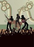 Poster do concerto Imagens de Stock Royalty Free